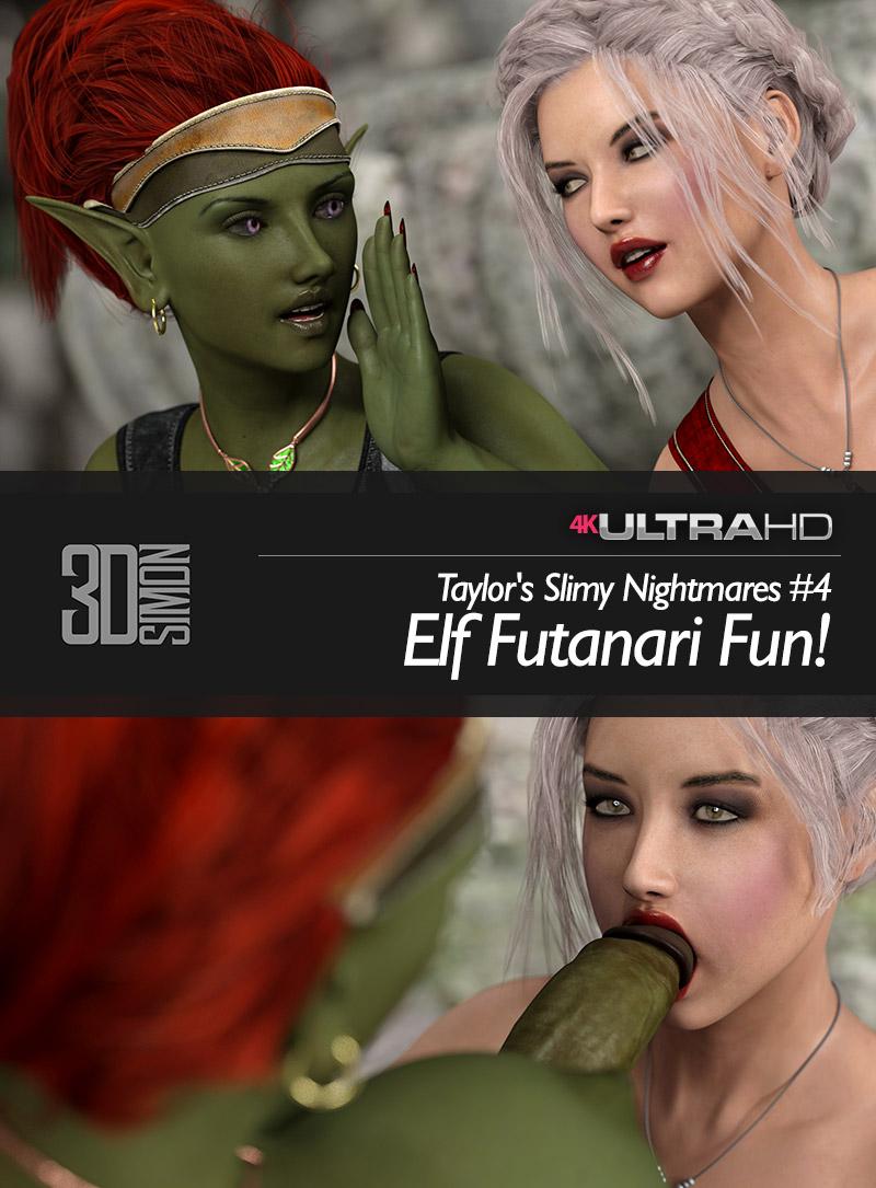 Elf Futanari Fun - Taylor's Slimy Nightmare IV
