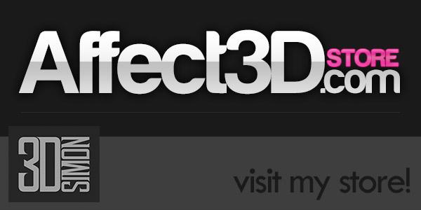 3DSimon - 3D Simon Store on Affect3D
