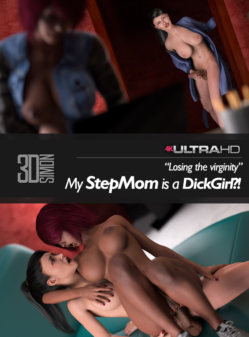 3DSimon My StepMom is a DickGirl